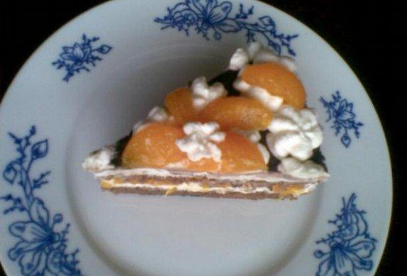 Mrkvový dort s tvarohovým krémem