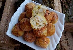 Bramborovo - rybí krokety