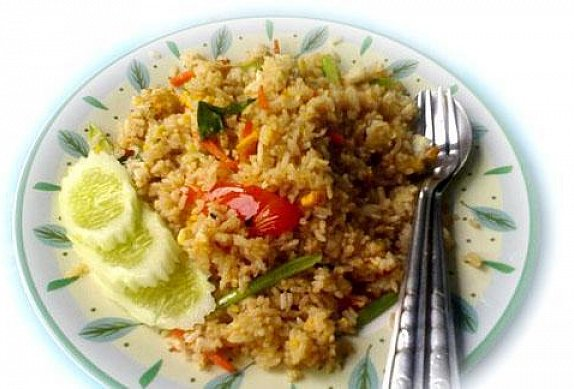 Asijská smažená rýže