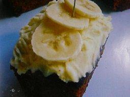 Lehký banánový koláč