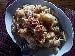 Sladké ořechové nudle (těstoviny)