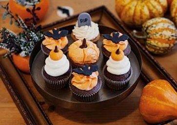 Strašidelný Halloween: Cupcakes 3x jinak