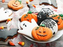 Halloweenské sušenky