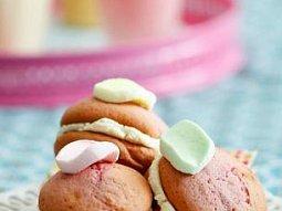 Marshmallows sendviče