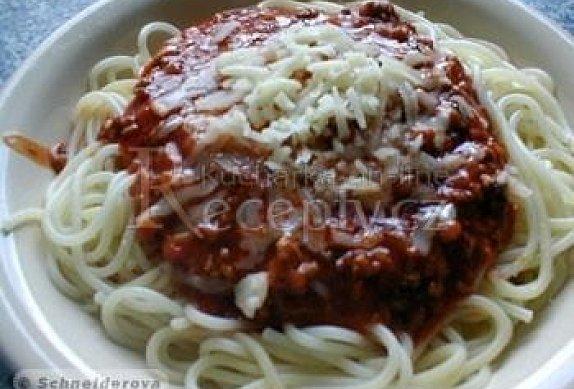 Boloňské špagety podle Evy