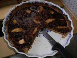 Hříšný čokoládový koláč