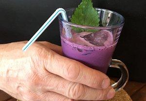 Borůvkový koktejl