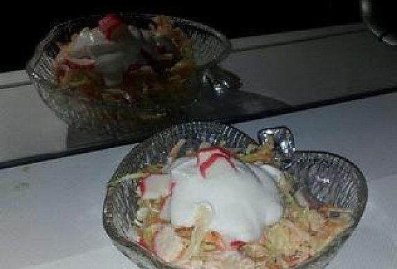 Ledový krabí salát s jogurtem photo-0