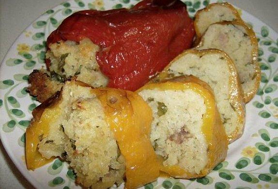 Plněné papriky alla Materana