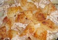 Česnekové řízky na smetaně