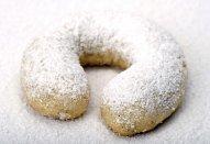 Vanilkové rohlíčky a kuličky z jednoho těsta