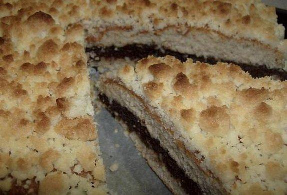 Makový koláč s posypkou