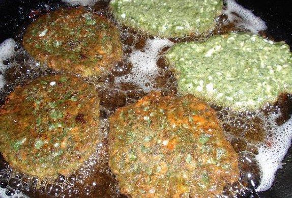 Špenátové placičky se sýrem