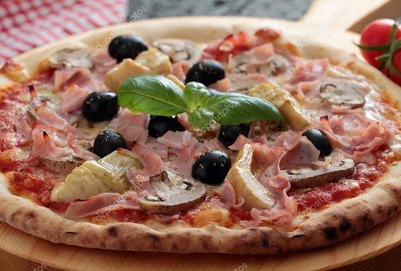Pizza velmi podobná té právé z pizzerie