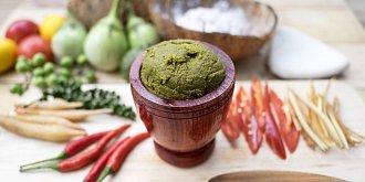 Zelená kari pasta