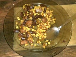 Bloodyho fazole s klobásou