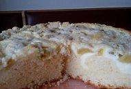 Jogurtovo-rebarborový koláč