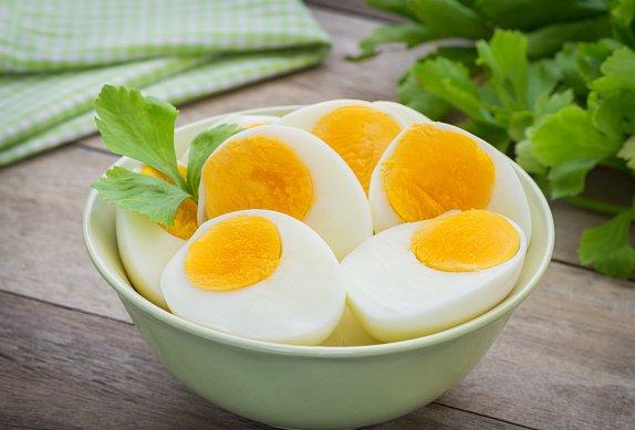 Vajíčková pomazánka s hermelínem