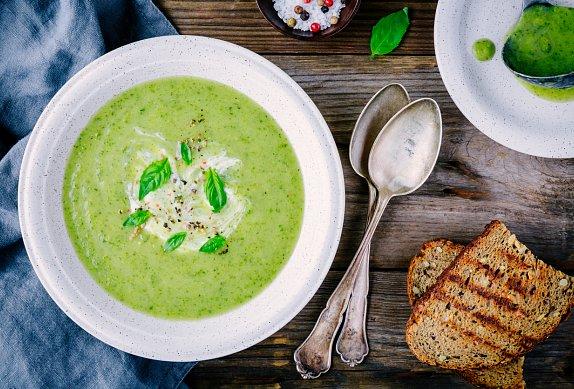 Smetanová ředkvičková polévka