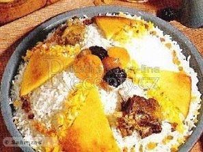 Plov (Pilaf) - Ázerbájdžánské národní jídlo