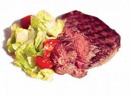 Uruguayský hovězí rib-eye steak