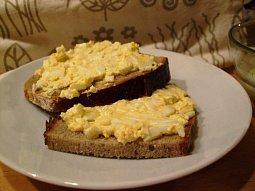 Krémová vajíčková pomazánka