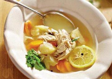 Kuřecí polévka podle Kateřiny Winterové
