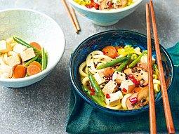 Rychlá miso polévka z woku