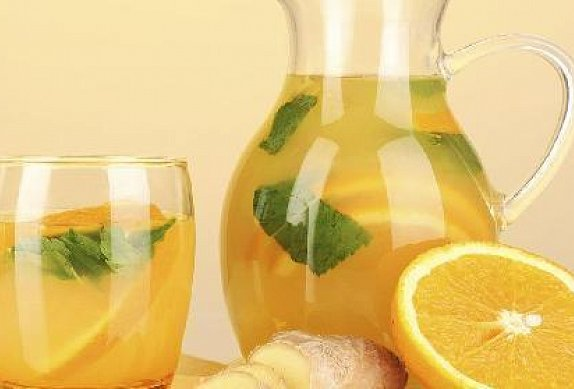 Domácí zázvorová limonáda photo-0