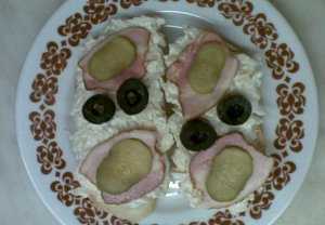 Vaječný salát s celerem