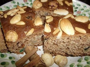 Pan di spezie - sladký kořeněný chlebíček