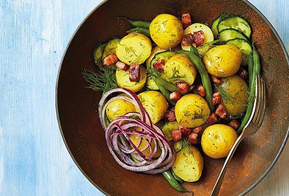 Sedlácký bramborový salát