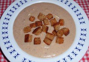Chlebová polévka podle Ládi Hrušky