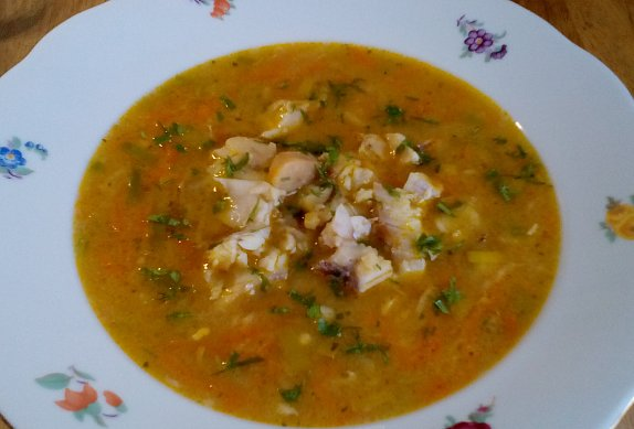 Blesková rybí polévka