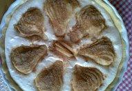 Podzimní hruškový koláč