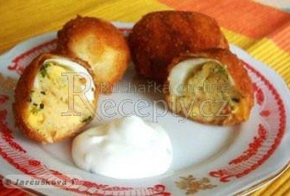 Smažená plněná vejce photo-0