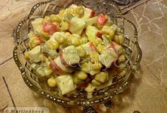 Ukrajinský krabí salát photo-0