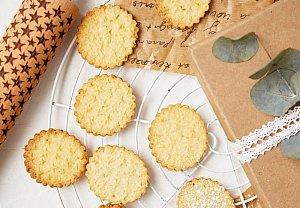 Zázvorové sušenky s hvězdami