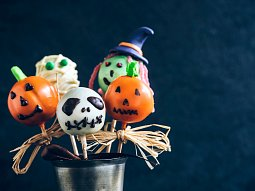 Halloweenské cakepops
