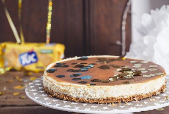 Cheesecake se slaným karamelem photo-0