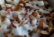 Jablečno-hruškový pečený čaj
