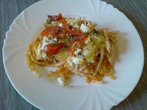 Zapečené špagety II.