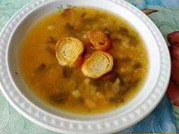 Fazolová polévka s pórkem