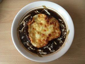 Cibulová polévka podle Marušky