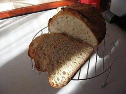 Domácí chléb bez hnětení