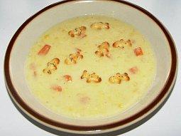 Kukuřičná polévka s mrkví