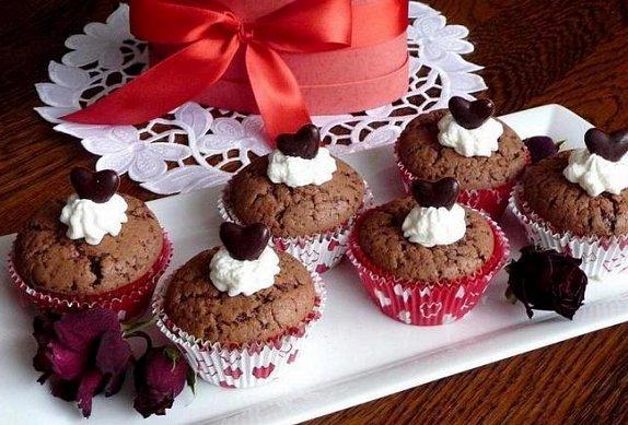 Muffinky vynikající čokoládové