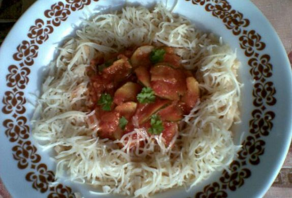 Zeleninové těstoviny - bezmasé