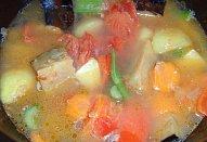 Krémová zeleninová polévka ala minestrone