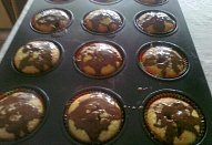 Muffiny s tvarohem a ovocným želé